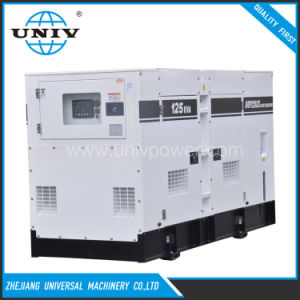 Großer Motor angeschaltener globale Garantie-Dieselenergien-Generator-leiser Dieselgenerator 100kw