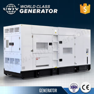 일본 Denyo 디자인 엔진 10kVA 방음 디젤 엔진 발전기