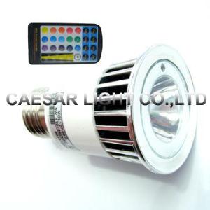 RGB färben ändernde LED-Glühlampe