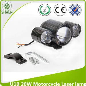 12-80V coche, carro U10 LED de luz láser de la motocicleta