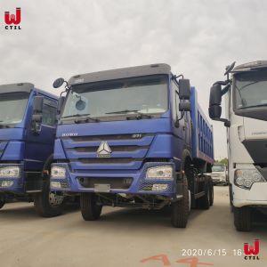 Sinotruk HOWO 371HP Preço Caminhão Basculante 25t Mini Truck Zz3257n3641