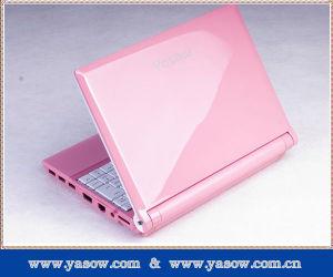 Nieuwe Stijl MiniNetbook (roze-als 1022)