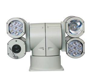 Láser de infrarrojos Lámpara de xenón 4 Alojamiento HD cámara PTZ IP