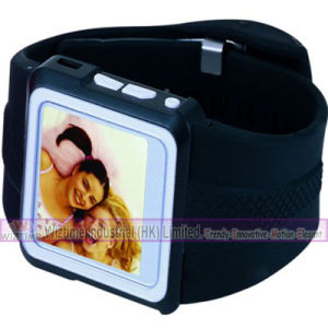 4GB 1.8インチTFTスクリーンMP4プレーヤーのプラスチック腕時計(WTW4701)