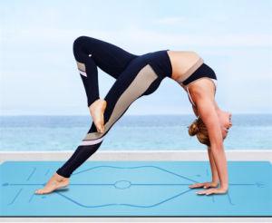 Ejercicio Non-Slip espesor de la estera del yoga Almohadilla de caucho  natural c529b94b4e2a