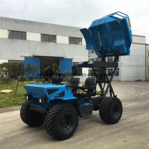 熱い販売18HP 4車輪4WDの小型農場トラクター