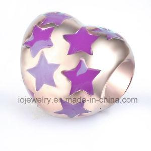 Branelli su ordinazione del metallo del cuore di natale del regalo stellato dei monili