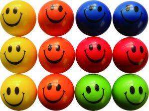 Sports balle en mousse PU ralentir la hausse pour le visage souriant