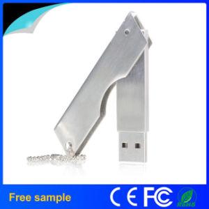 Вращающийся нож образной металлической флэш-накопитель USB 8 ГБ
