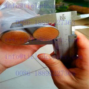 Staaf van de Staaf van de Steun van het Koper van Zr van het Koper van het nikkel de Beklede Beklede voor Productie van Pta