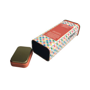 気密のふたの茶錫ボックス卸売のカスタム印刷