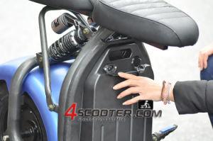 """trotinette"" elétrico grande Citycoco de 60V 1500W Harley com bloco destacável fácil da bateria"