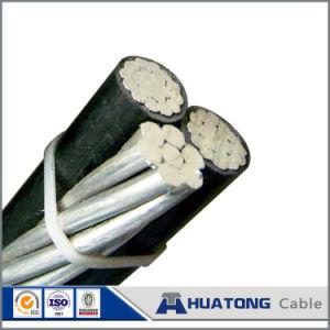 cavo Twisted impacchettato aereo di ABC del cavo del conduttore di alluminio del PVC 0.6/1kv/XLPE