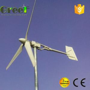 niedriges 2kw Windgeschwindigkeit-Wind-Turbine-Systems-Dach eingehangen