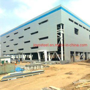 Fácil de instalar la estructura de acero naves de gran estructura de acero de almacén agrícola arrojar