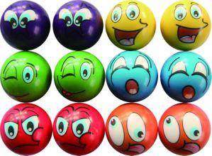 Espuma de PU Sports aumento lento da bola para a face sorridente