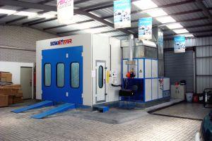 Automotive Manutenção de cabines de pintura por spray certificado CE