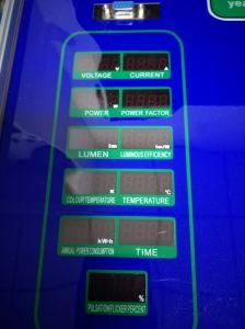 Luce intermittente chiara della prova dello spettrometro del tester di lumen del LED