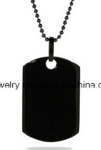 Halsband van de Tegenhanger van de Juwelen van het Staal van de douane de Chirurgische Medische Waakzame