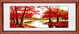 カエデの葉のプラント伸張器とのホーム供給のロマンチックな芸術の絵画