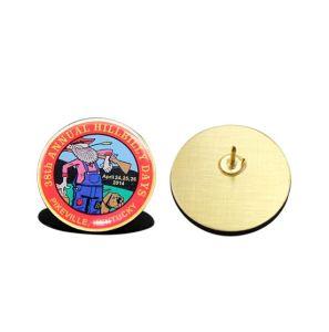 昇進のギフト(PB-006)のための熱い販売の金属の折りえりPin