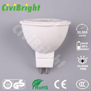Lampen-Scheinwerfer des MR16 LED Birne Dimmable PFEILER Chip-5W LED