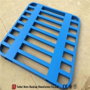 Almacén de la estantería de acero apilable de paletas
