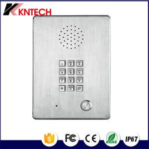 Промышленные стальные телефон Knzd-03 беспроводного телефона номер телефона элеватора нержавеющая сталь