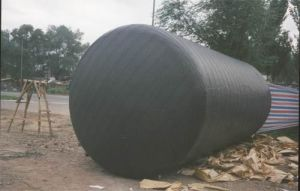 Anticorrosion de Binnen Butyl Band van de Omslag van de Pijp, de Ondergrondse Anticorrosion PE Band die van de Omslag van de Pijp, Polyethyleen de Zelfklevende Band van de Buis verpakken