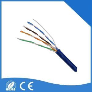 UTP Cat5e el cable de red de computadoras adecuado para cámara CCTV IP.