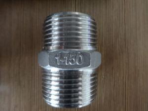 Hexagonal de acero inoxidable 316/304. Pezón