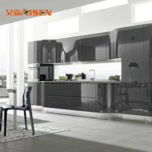 Modernes volles Set-Ausgangsentwurfs-Küche-Schrank-Modell