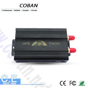 Cartão duplo SIM Vehicle Tracking Tk103A+ Carro Porta da Trava do rastreador GPS Localizador remotamente