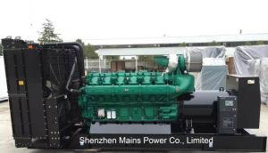 산업 Genset를 위한 1360kw 1700kVA Yuchai 디젤 엔진 발전기
