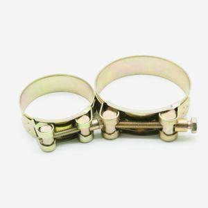 Le collier du tuyau en acier galvanisé Tubes en acier inoxydable les colliers de serrage des colliers de flexible