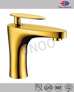 Unoo 단 하나 손잡이 크롬 /Brushed 니켈 /Bronze 완료 또는 천체 /Gold 물동이 꼭지