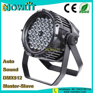 36PCS 10W RGBW 4in1 Waterproof LED PAR Light