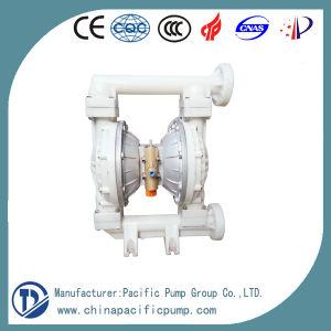 Qby Cast Iron/Ss/Aluminum/PP/F46 Air Driven Liquid Pump