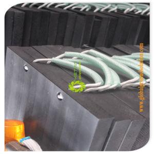 De zwarte Stootkussens van de Voet van de Kraan van de Stootkussens van de Kraanbalk van de Kraan van de Kleur UHMWPE Plastic Plastic/de Stootkussens van de Weg