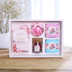 De eenvoudige Europese High-End van de Dozen van het Suikergoed van de Boutique van de Stijl Creatieve Grootte van de Herinnering van de Doos van de Gift van het Huwelijk van het Huwelijk Vastgestelde Kleine