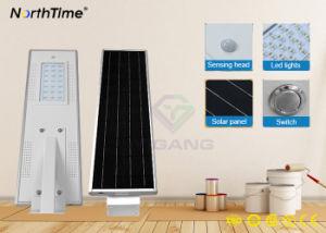 El pasado 4-Rainy-Days Energía Solar con protección IP65 de la calle LED luces con Ce/RoHS/ISO