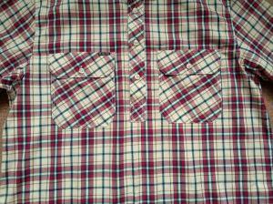 Camisas tejidas collar largo teñidas hilado del soporte de la funda de la tela escocesa de 100%Cotton de los hombres