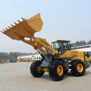 Lader de van uitstekende kwaliteit 5ton Clg856 van het Wiel van Liugong van de Lage Prijs
