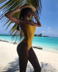 2019 de Sexy Bikini Swimwear van de Strandkleding
