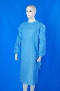 De Hubei Xiantao Tejida PP desechables o SMS bata quirúrgica