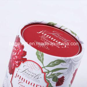 ボール紙のギフトのための円形の管のギフトの包装ボックスか軽食またはクッキーまたはキャンデー