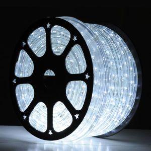 150 pies de cristal corredera LED blanco brillante iluminación de la cuerda 230V