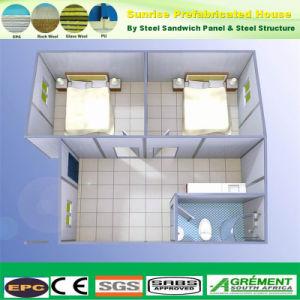 Estructura de acero prefabricados modulares de construcción de la oficina en casa contenedor construcción prefabricados