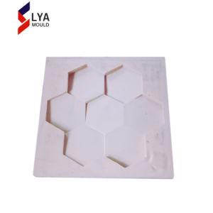 破裂音の装飾的な3D人工的な壁の石のゴム製型