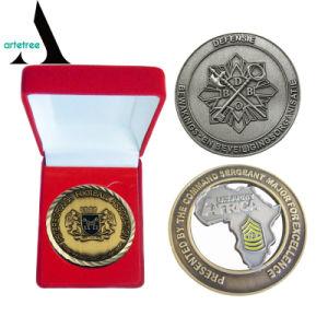 China personalizados promocionales Desafío de metal esmaltado Coin